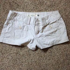 Light Khaki shorts. Size 9.